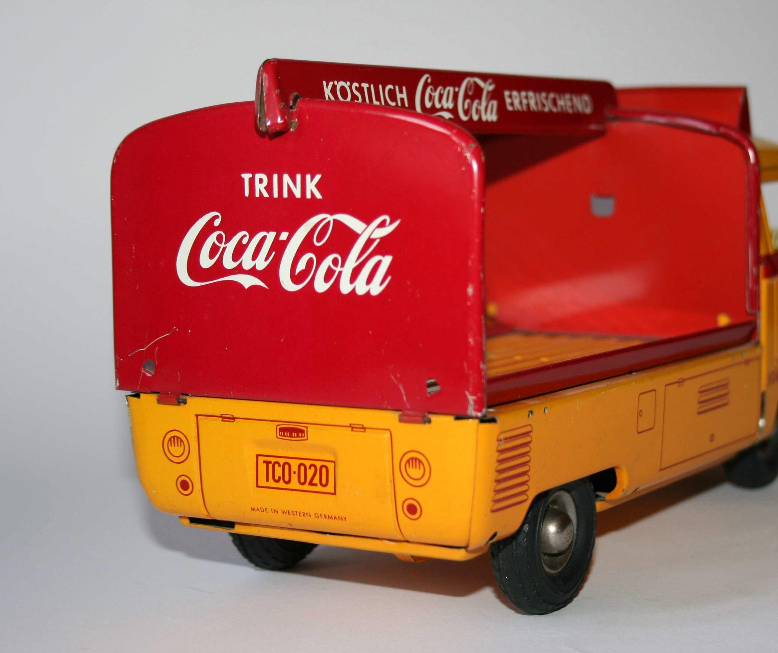 "Rückwand für Tippco VW-Bus /""Coca-Cola/"""